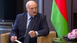 Лукашенко подписал декрет опередаче власти вслучае его гибели