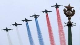 Летят самолеты: как прошли воздушные Парады Победы вразных частях России— видео