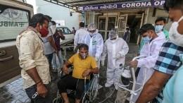 ВИндии произошла вспышка «черной плесени» нафоне коронавируса