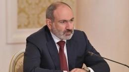 Парламент Армении вновь неизбрал Пашиняна напост главы правительства