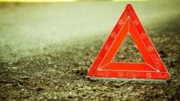 Фура врезалась вавтобус спассажирами под Пензой— видео сместа