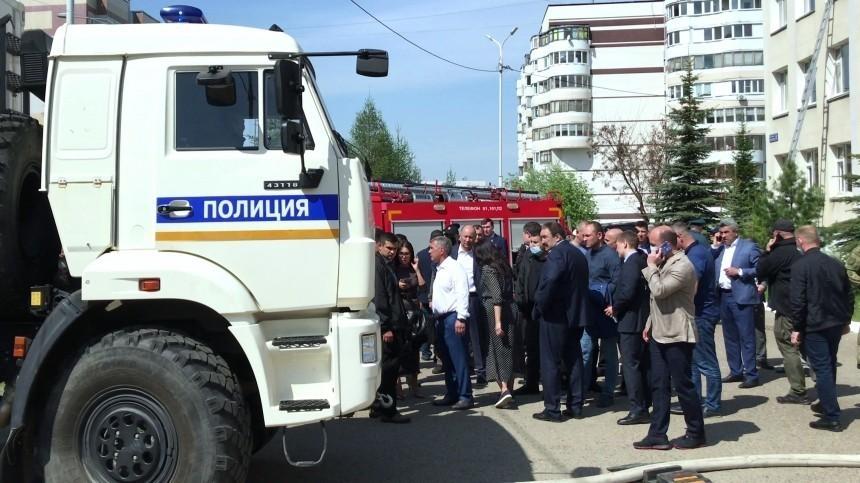Полиция проверяет информацию острельбе вшколе Казани