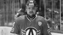 Умер бывший защитник «Спартака» и«Автомобилиста» хоккеист Егин