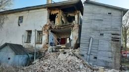 Стена многоквартирного жилого дома начала XIX века обрушилась под Вологдой
