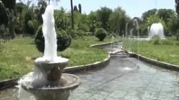 ВАлеппо восстановили центральный парк смузыкальными фонтанами