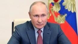 Путин обратился кучастникам фестиваля «Российская студенческая весна»