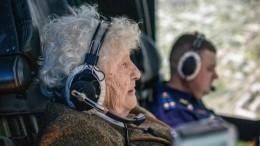Видео: «железная бабушка» Мария Колтакова освоила планер в99 лет