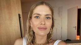 «Напапу похож»: Лена Перминова впервые показала лицо новорожденного сына— фото
