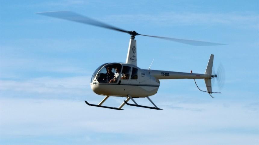 Частный вертолет упал вБелое море под Архангельском