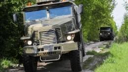 Грузовик насмерть задавил солдата-срочника вподмосковном Алабино— видео