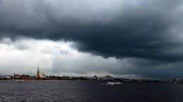 Молнии, поваленные крыши идеревья: гроза проверила Петербург напрочность— видео