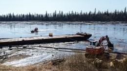 Разлитая вКоми нефть скоро попадет вокеан. Обутечке знали еще вапреле— расследование