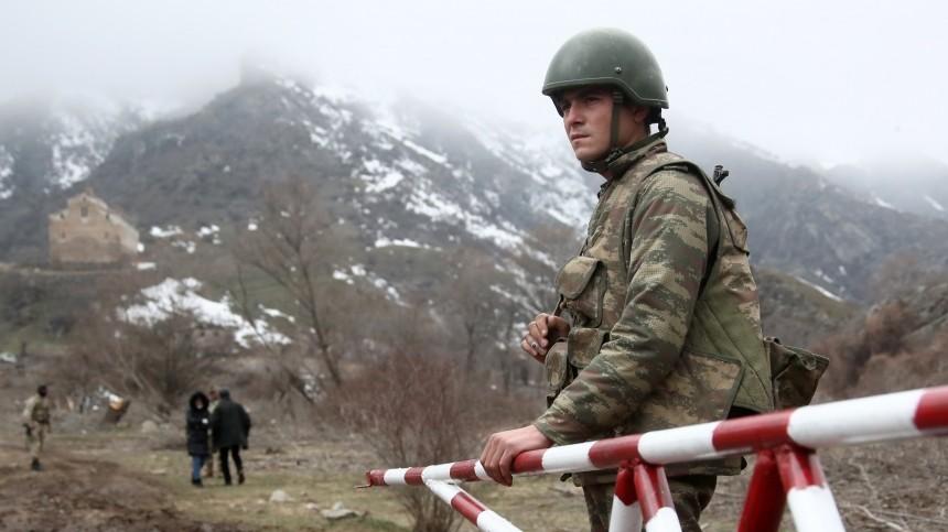 РФпредложила Баку иЕревану содействие вурегулировании пограничного конфликта