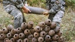 Саперы уничтожили схрон боеприпасов вРостовской области