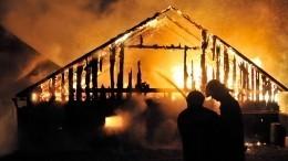Затопили баньку: пятеро сгорели вмощном пожаре под Пермью— фото
