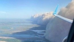 Невидно низги: регионы России приходят всебя после песчаной бури