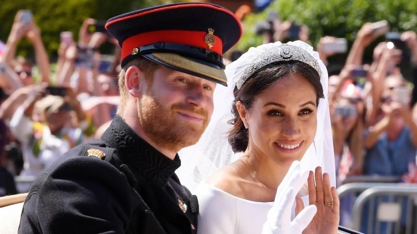 Королевская семья непоздравила принца Гарри иМеган Маркл сгодовщиной свадьбы