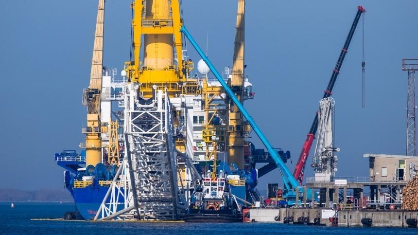 США небудет вводить санкции вотношении оператора «Северного потока— 2»