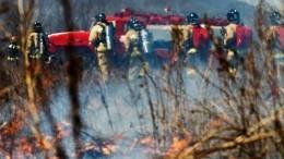 Огненная буря нещадит дома жителей Тюменской области
