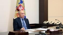 Жесткая дипломатия ивирус беспамятства: Путин выступил назаседании оргкомитета «Победа»