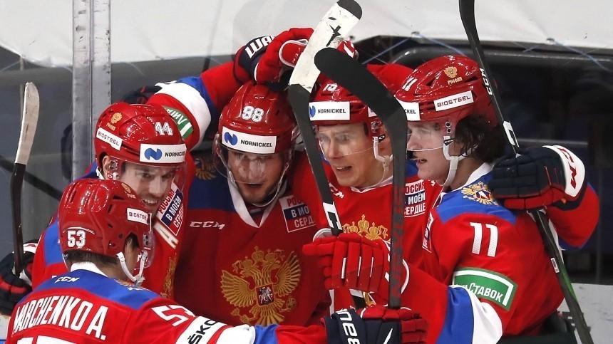 Озвучен состав сборной России наматч Чемпионата мира похоккею сЧехией