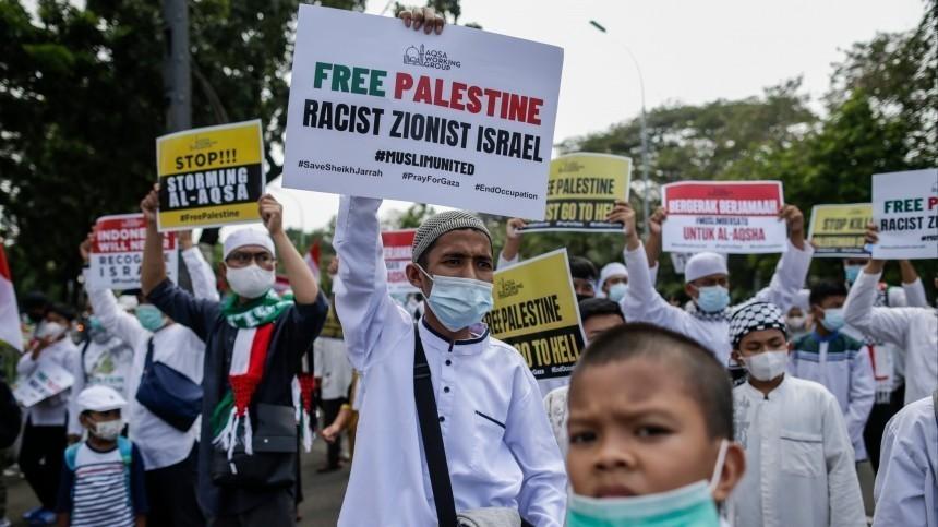 Около 40 палестинцев пострадали встычках сполицией Израиля