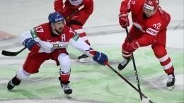 Россия обыграла Чехию впервом матче Чемпионата мира похоккею вРиге— 4:3