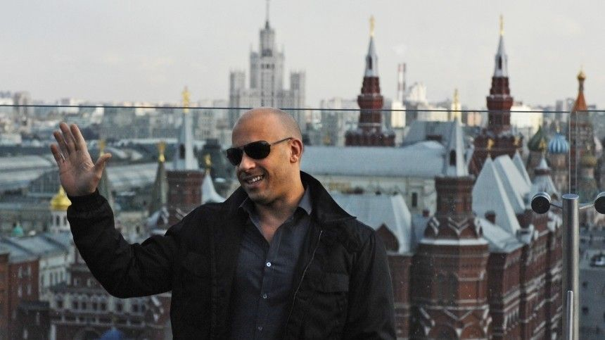 Вин Дизель признался влюбви России ипообещал снять «Форсаж» вМоскве