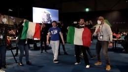 Итальянские журналисты устроили свой концерт на«Евровидении» ирасплакались после победы