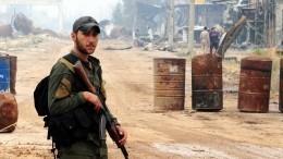 Боевики вСирии готовят провокацию сотравляющими веществами перед выборами