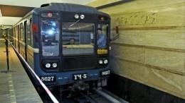 Движение научастке четвертой линии петербургского метро временно приостановили