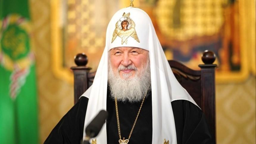 Владимир Путин поздравил патриарха Кирилла сДнем тезоименитства