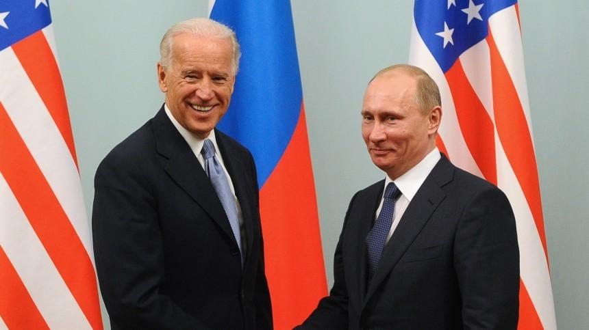 Названо вероятное место встречи Владимира Путина иДжо Байдена