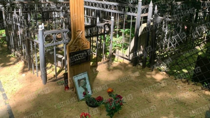 Кто изачем сровнял могилу Джигарханяна сземлей?