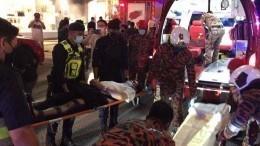 «Кровавое» ДТП: более 160 человек пострадали при столкновении поездов вМалайзии