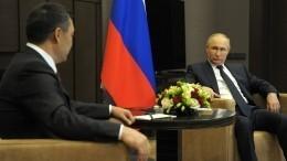 Путин: Россия поможет Киргизии иТаджикистану решить вопрос погранице