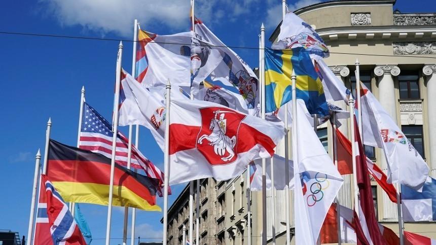 ВГосдуме отреагировали назамену флага России наЧМпохоккею вРиге