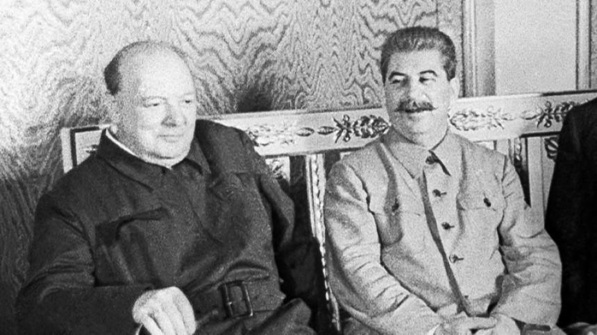 Черчилль планировал наступление напозиции Красной Армии вмае 1945: журналисты
