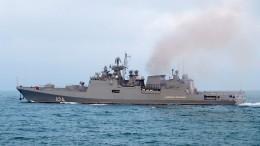 Фрегат «Адмирал Григорович» провел ракетные стрельбы вЧерном море