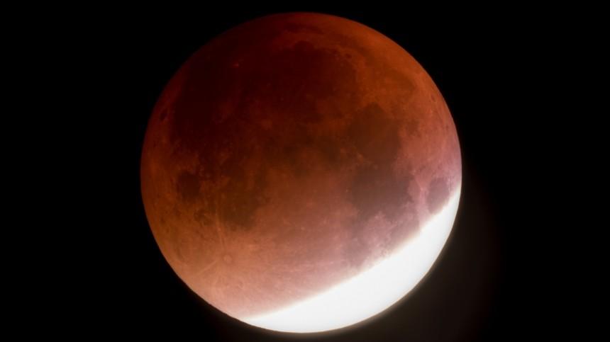 Полное лунное затмение продлится 14,5 минут