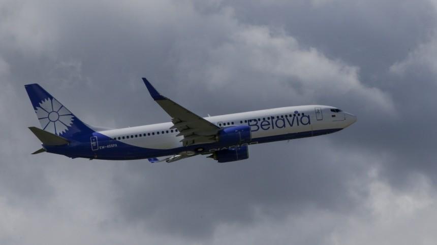 Рейс авиакомпании «Белавиа» Минск–Барселона развернули ввоздухе
