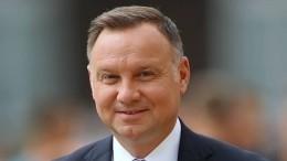 Президент Польши назвал Россию «ненормальной страной»