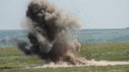 ВКрыму эффектно уничтожили 37 бомб времен Великой Отечественной войны