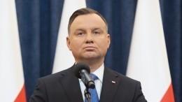 «Ненависть застилает глаза»: Песков обоскорблениях президента Польши вадрес РФ