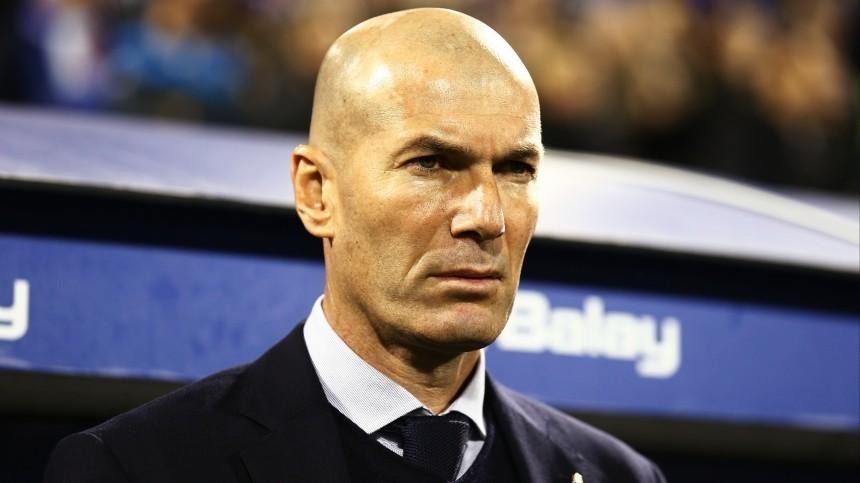 «Мыуважаем его решение»: Зидан ушел споста главного тренера «Реала»
