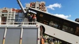Кто виноват вДТП с«вставшим надыбы» автобусом вПетербурге— мнение автоэксперта