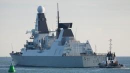 Минобороны Британии неподтвердило выдворение эсминца израйона Крыма