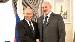 «Море становится все теплее»: Путин предложил Лукашенко искупаться вСочи