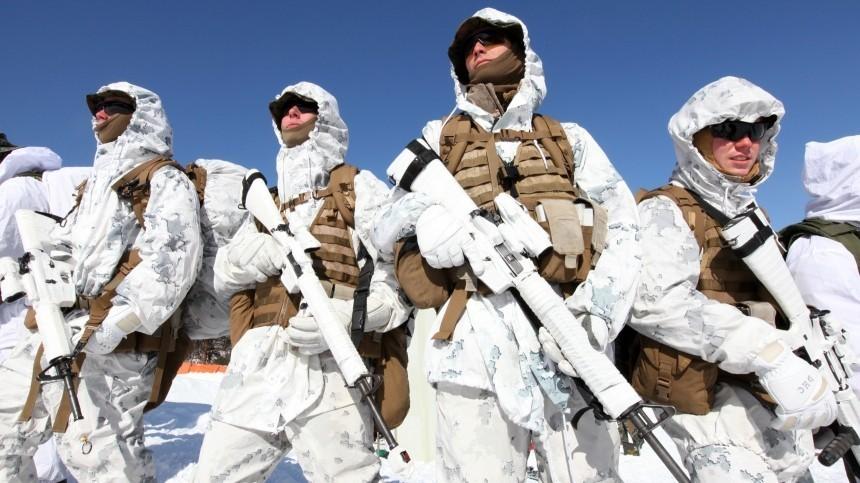 ВСША заявили оподготовке к«первой арктической войне»