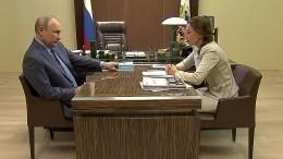 Детский омбудсмен доложила Путину онарушениях ворганизации школьного питания